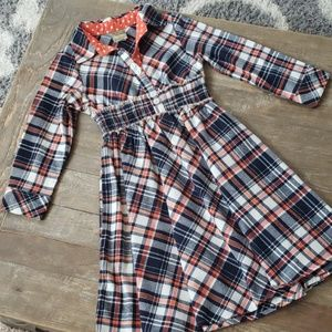 Other - Girls flannel dress size 6